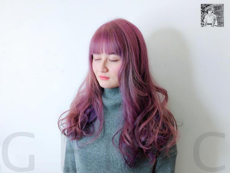 髮型創作/MoMo 。圖/StyleMap提供