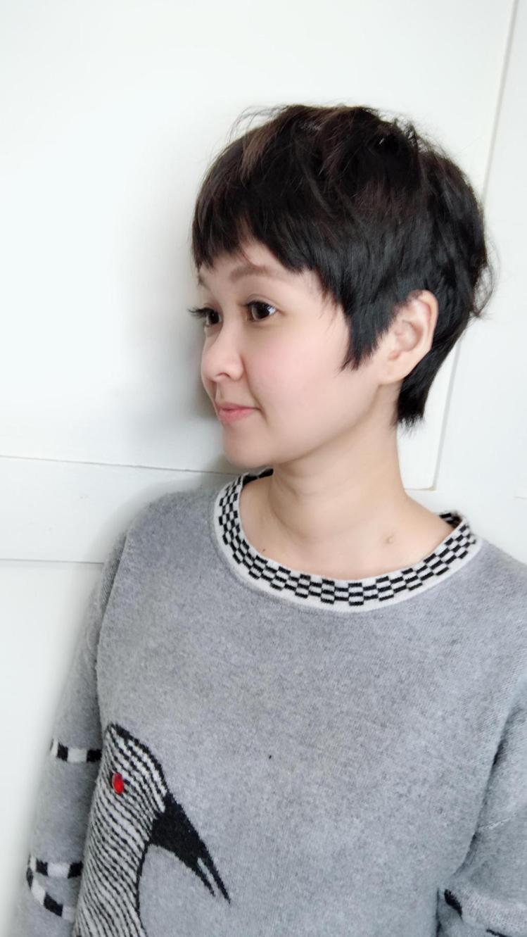 髮型創作/Yolanda Hung 。圖/StyleMap提供