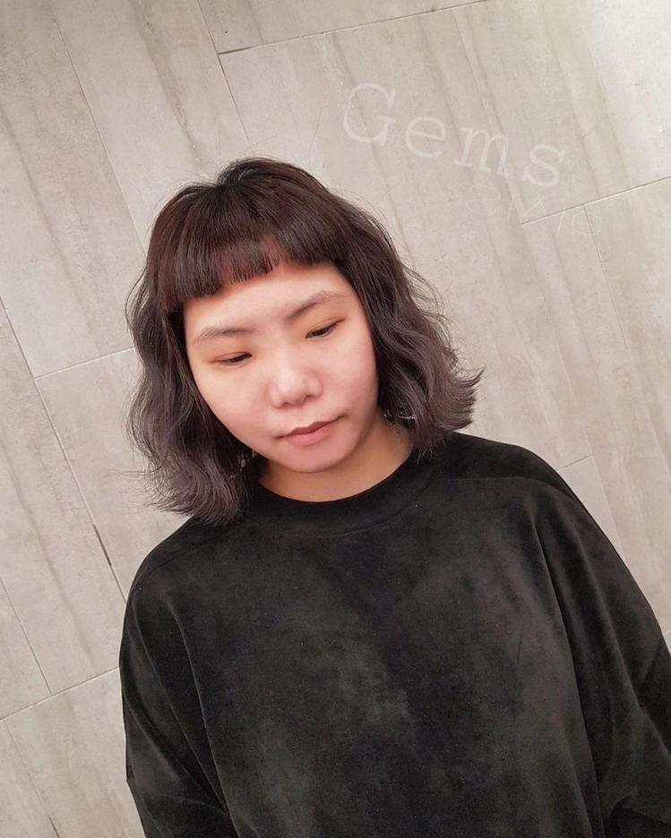髮型創作/Gems Hair Style 。圖/StyleMap提供