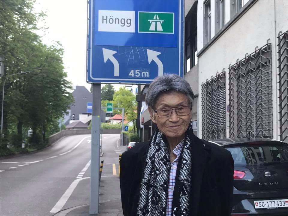 傅達仁在瑞士登記安樂死。圖/摘自臉書