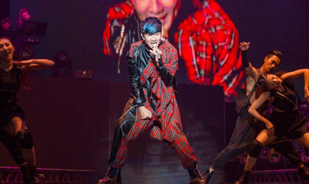 林俊傑2日在南京舉行「聖所」世界巡演。圖/JFJ Productions提供