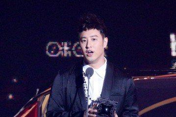 2018hito流行音樂獎在台北小巨蛋舉行頒獎典禮,潘瑋柏獲頒咪咕音樂最佳人氣獎。