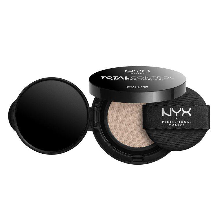 NYX全面控制超網美霧感氣墊粉凝霜,售價750元,共10色。圖/NYX提供