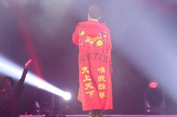 2018hito流行音樂獎在台北小巨蛋舉行頒獎典禮,潘瑋柏表演。