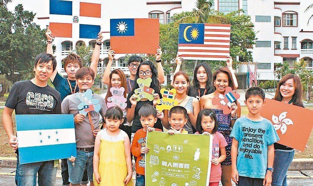 國內有不少新南向國家學生來台就學,尤以馬來西亞最多。 圖/聯合報系資料照片