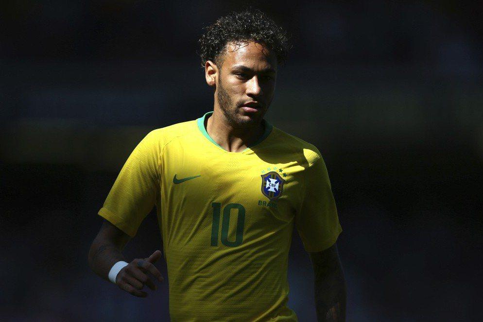 巴西當家球星內馬爾睽違3個月復出首秀就進球。 美聯社