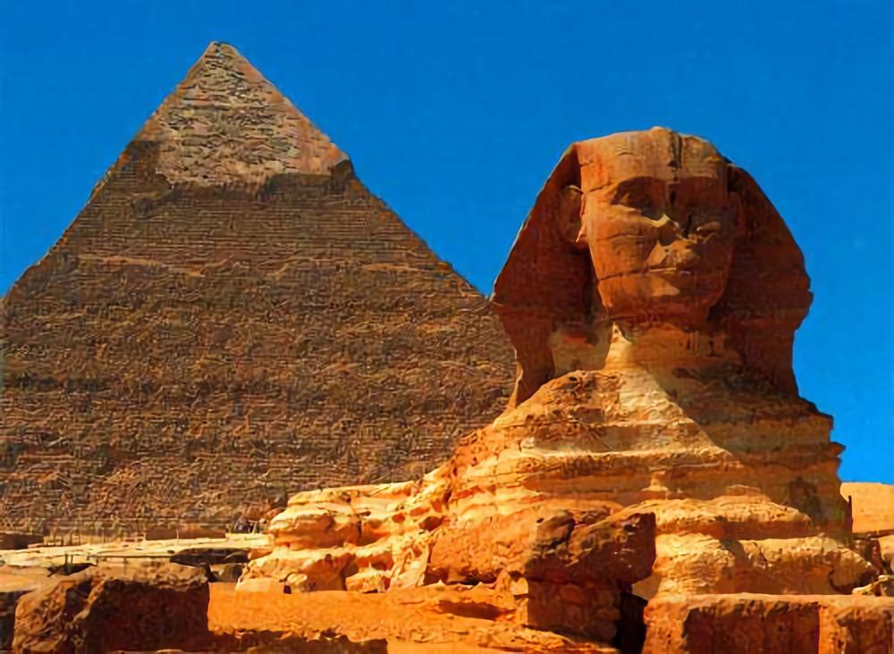 以金字塔及獅身人面像著稱的埃及吉薩高地採用「地理信息系統(GIS)」檢測景區的最...