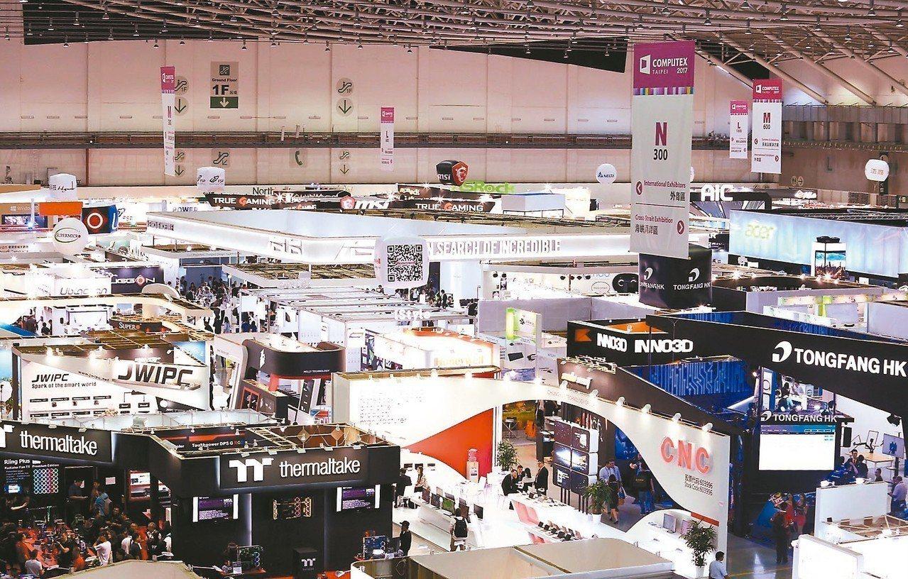 櫃買中心將帶領創櫃板公司參加「2018台北國際電腦展InnoVEX新創特展」。圖...