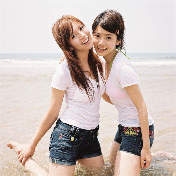 曾之喬2002年和劉品言組成女子團體「Sweety」出道。圖/豐華提供