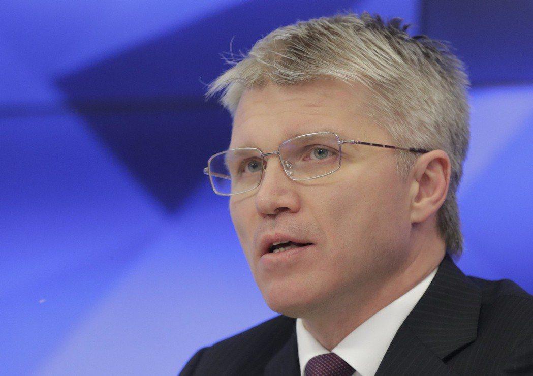 俄羅斯體育部長Pavel Kolobkov。圖/路透社