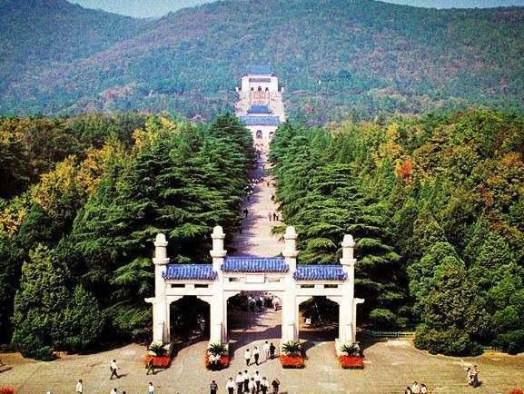 中山陵是南京具有符號性的「名片」。 圖/取自網路