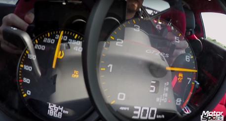 0-300km/h不到20秒有多快?Porsche 911 GT2 RS飆給你看!