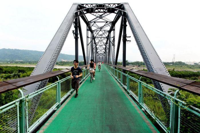埔心鄉自行車道。圖/彰化單車休閒旅遊