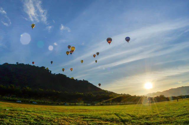 ▲2018台東熱氣球嘉年華。(圖/台東熱氣球活動網站)