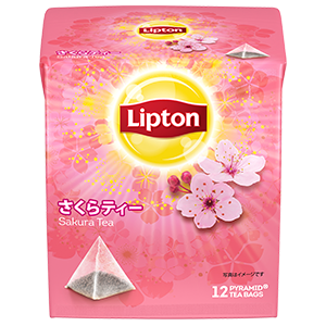 立頓 風味茶系列 期間限定櫻花花茶 lipton.jp