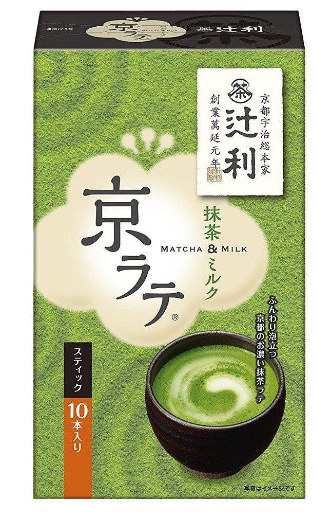 辻利茶鋪的抹茶奶茶粉 amazon