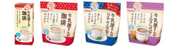 和光堂 牛乳屋低咖啡因咖啡/奶茶 wakodo 官網