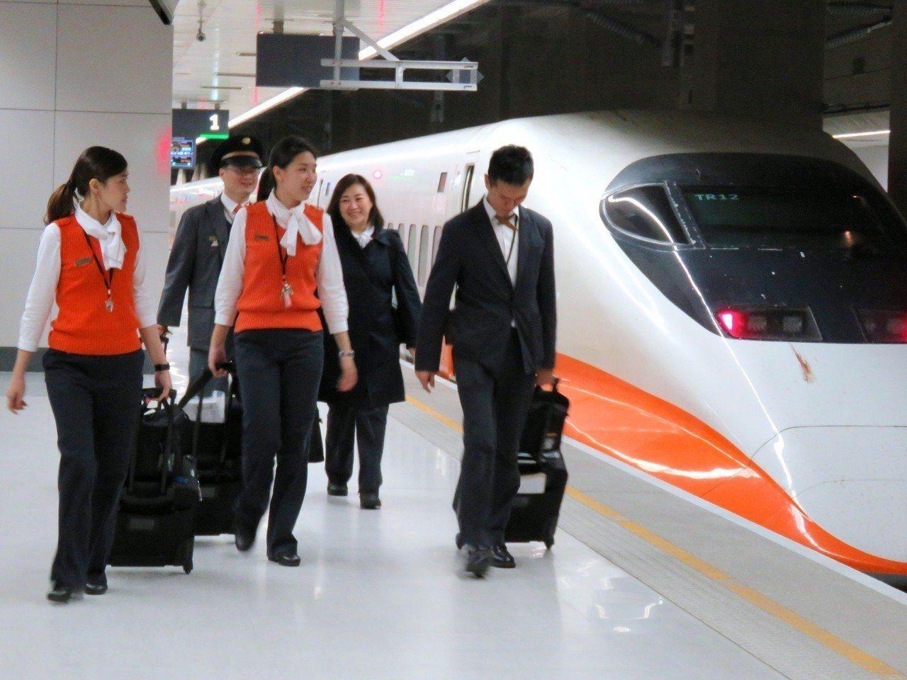 台灣高鐵公司表示演習期間,高鐵各車次列車均正常行駛。記者雷光涵/攝影