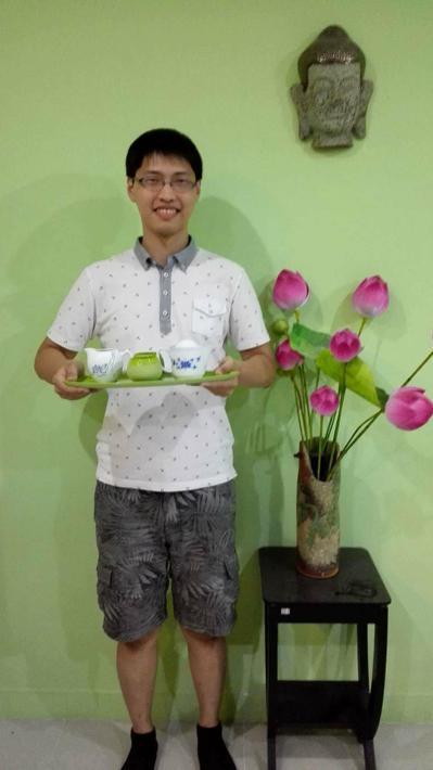 越南新住民二代、台師大華語教學系碩士班學生蔡宇傑,放棄年薪百萬的越南管理職工作,...