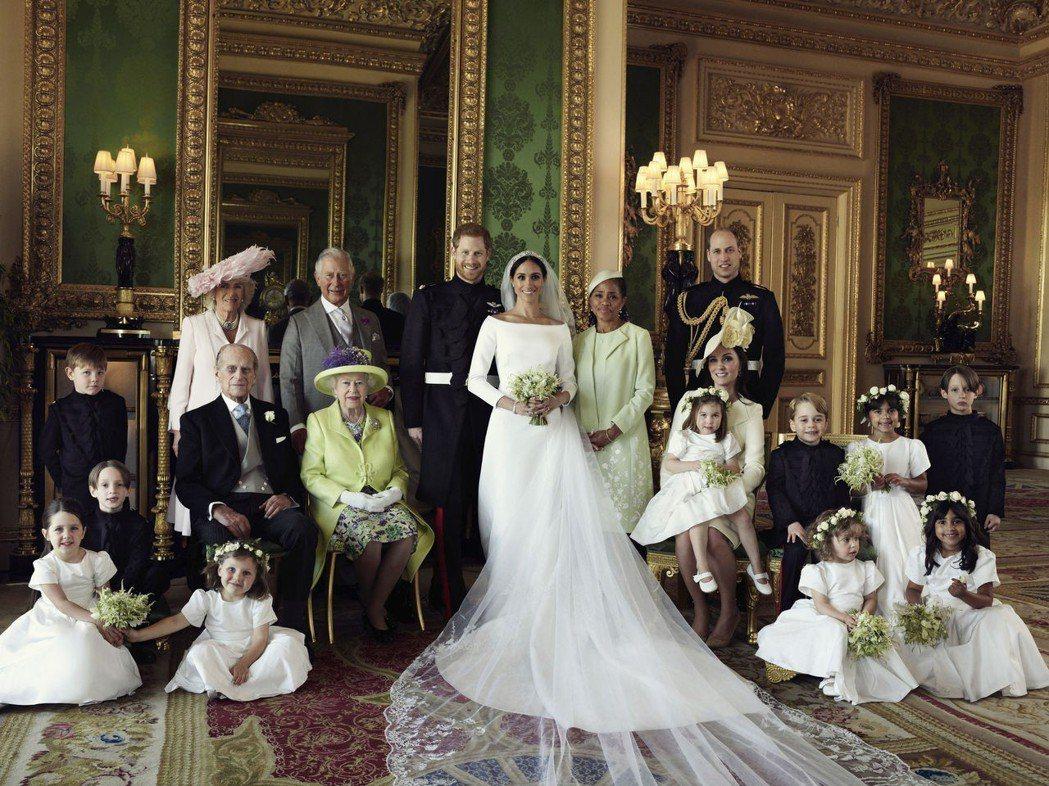 英國哈利王子與美國女星梅根馬可結婚,受到全球矚目。圖/路透資料照片