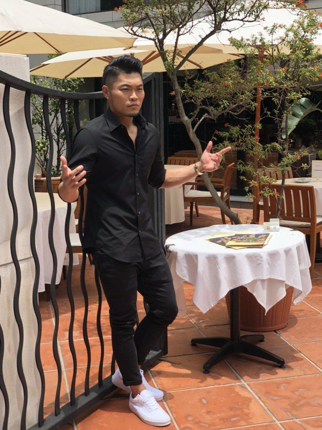 李玖哲4日舉行金曲入圍餐會,透露心情。記者許晉榮/攝影