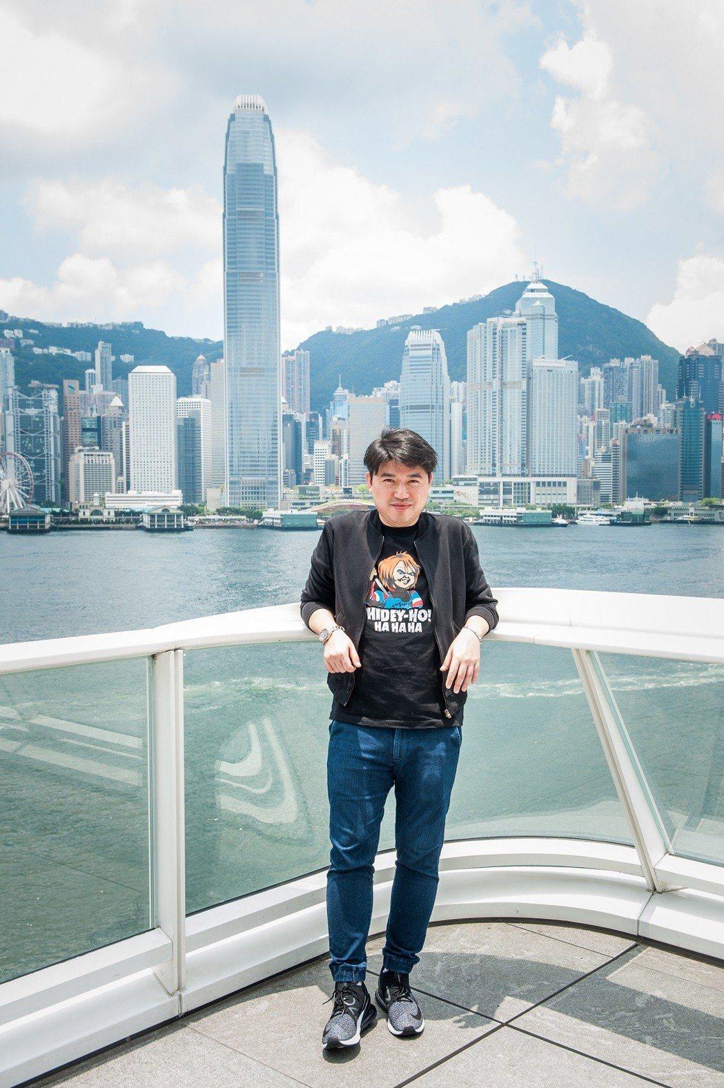 導演葉念琛日前在香港分享拍片過程。圖/衛視電影台提供