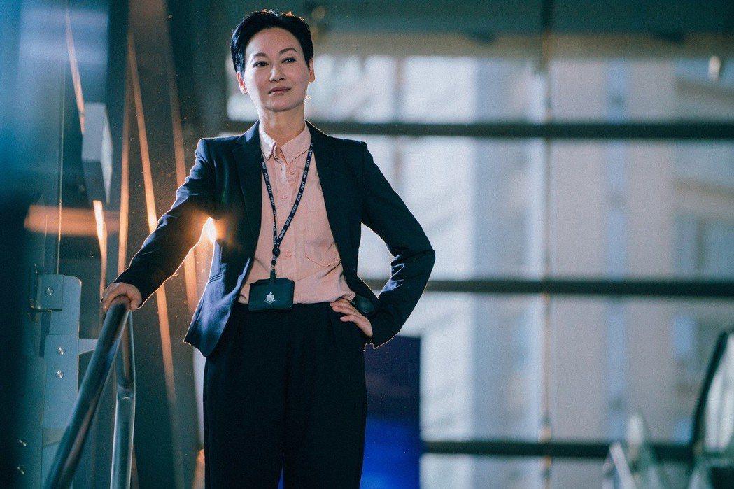 金馬影后惠英紅在「心冤」中飾演精明的警探。圖/衛視電影台提供