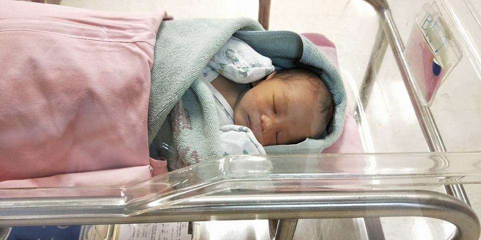 莊凱勛的兒子Mars。圖/摘自臉書