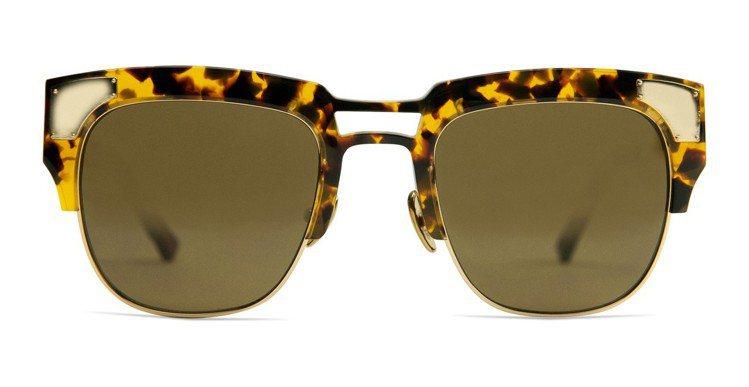Coco and Breezy霧面玳瑁鏡框太陽眼鏡,約9,670元。圖/Coco...