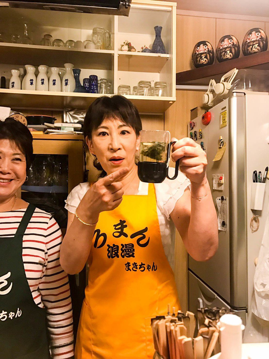 日本民眾喝到阿里山高山茶為之驚艷。圖/ 翁章梁團隊提供