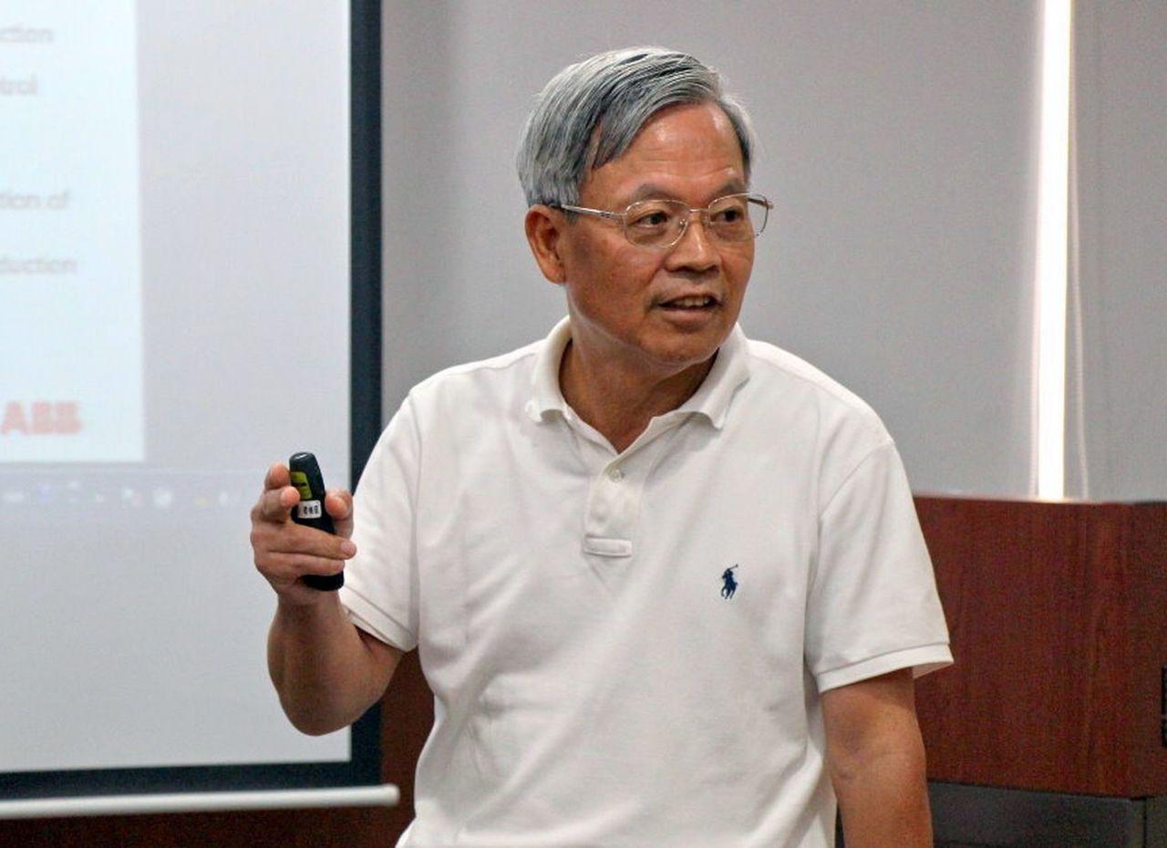 陳朝順教授,10年來在「智慧電網」研發上貢獻良多。記者王昭月/攝影
