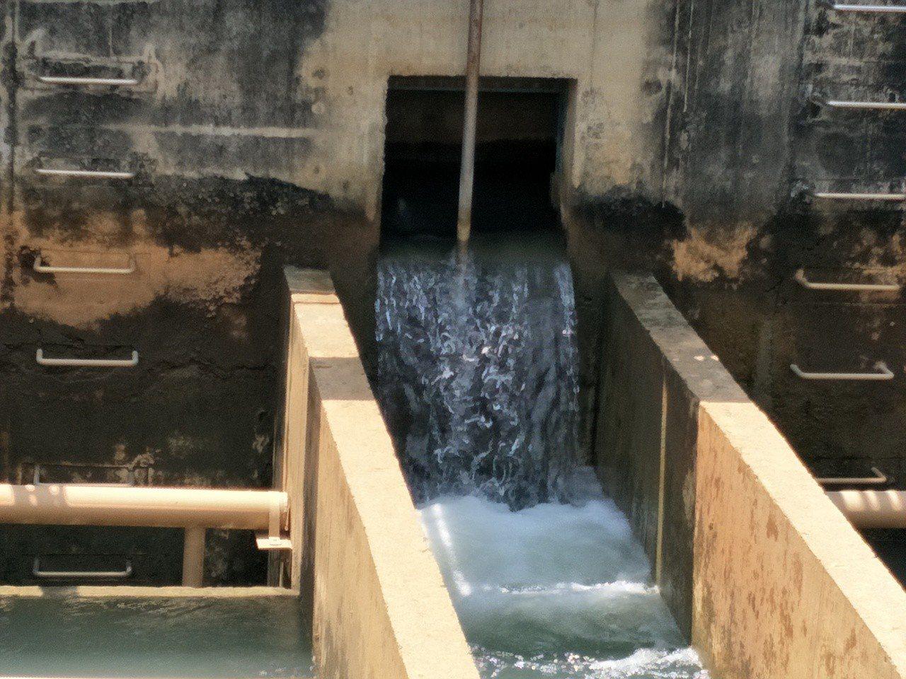 水公司強調,民生用水完成相關消毒作業符合標準,沒有問題。記者謝進盛╱攝影