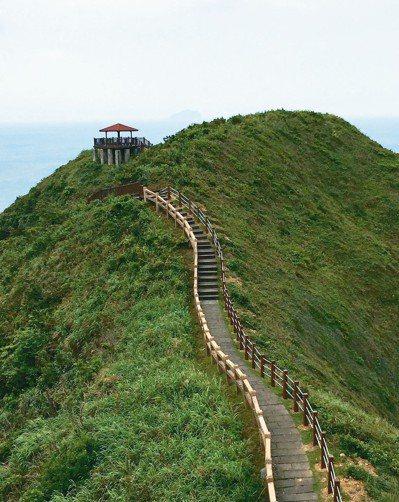 走走台北近郊象山和陽明山的登山步道,或擁有海天一色美景的健行步道(圖為新北瑞芳鼻...