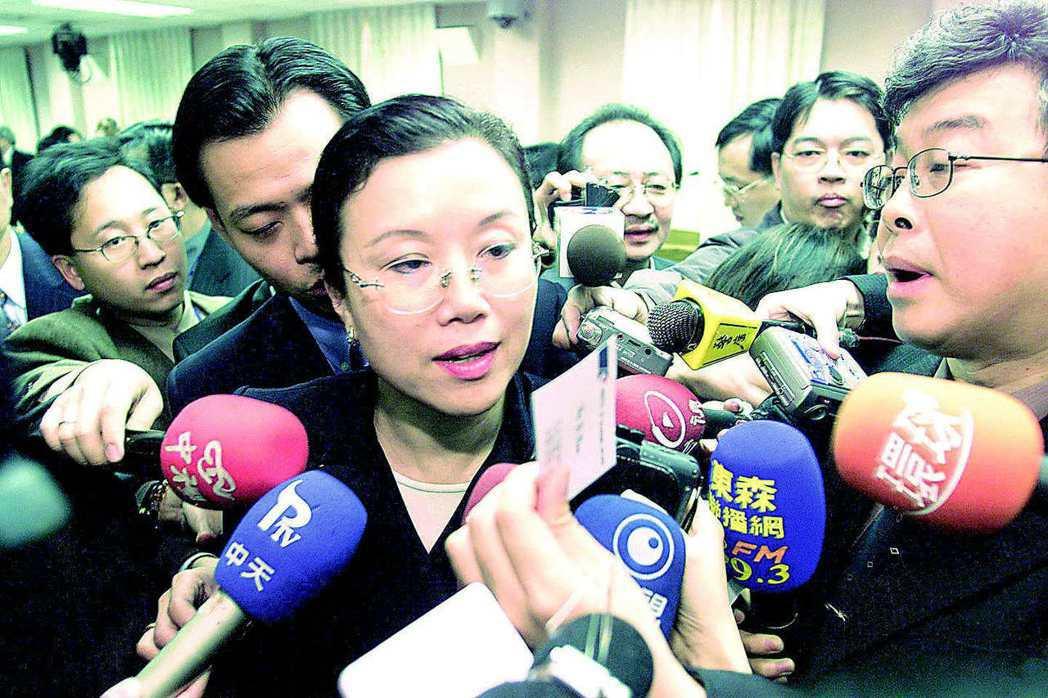 經濟部前部長宗才怡被喻為政壇第一隻小白兔,被立委重點質詢。 圖/聯合報系資料照片
