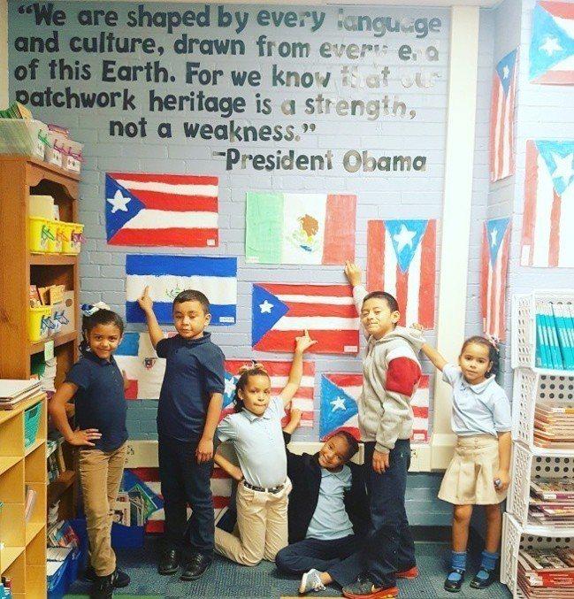 全美各大城市公立學校都有不少新移民學生,提供ESOL雙語計畫,根據1982年最高...
