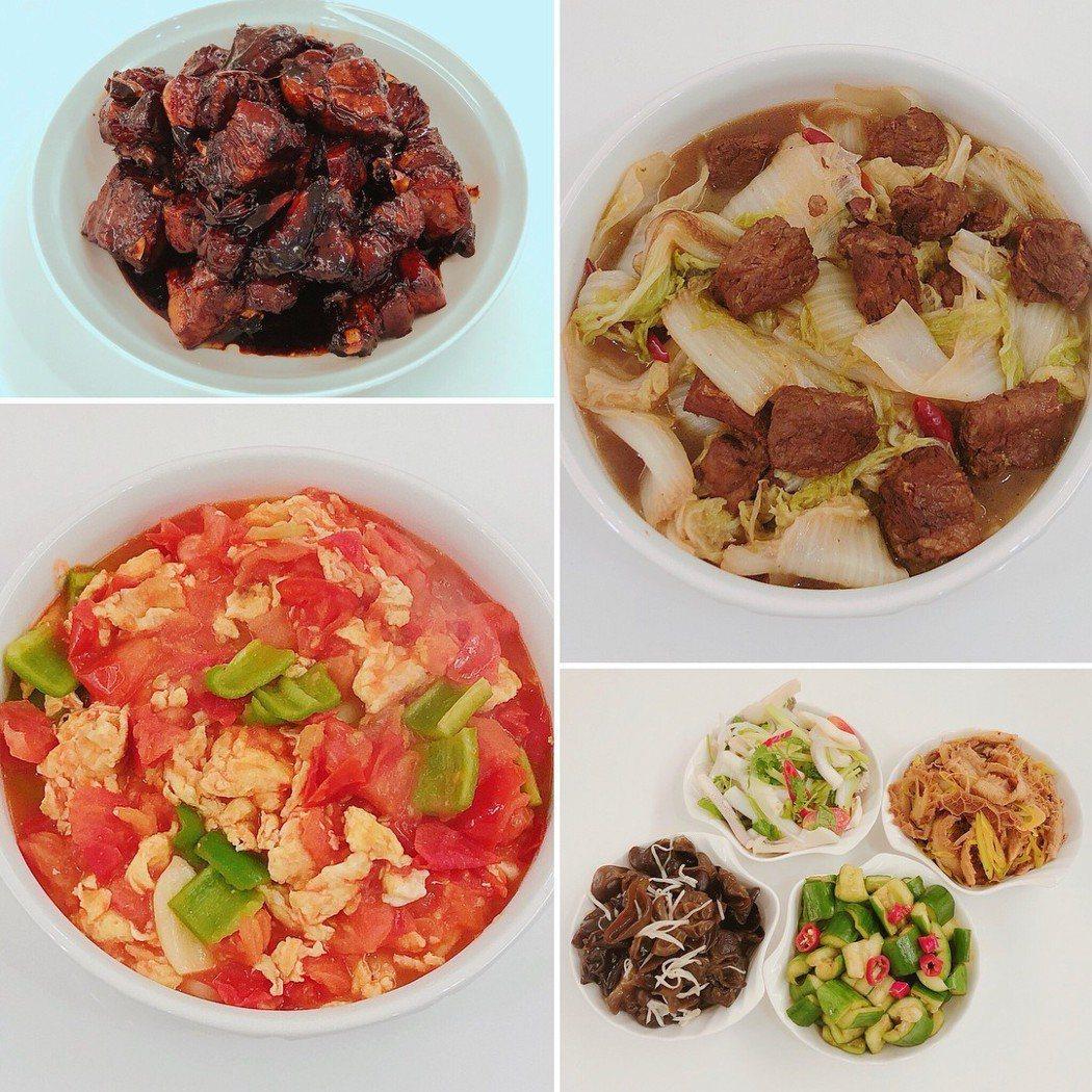 李榮浩為楊丞琳掌廚做菜。 圖/擷自楊丞琳IG