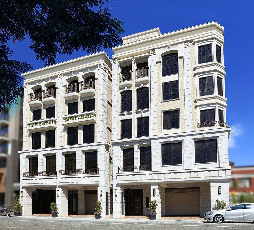 獨特270度維多利亞角窗英式古典風格美學,臨17米大道而立,為市中心構築一個...