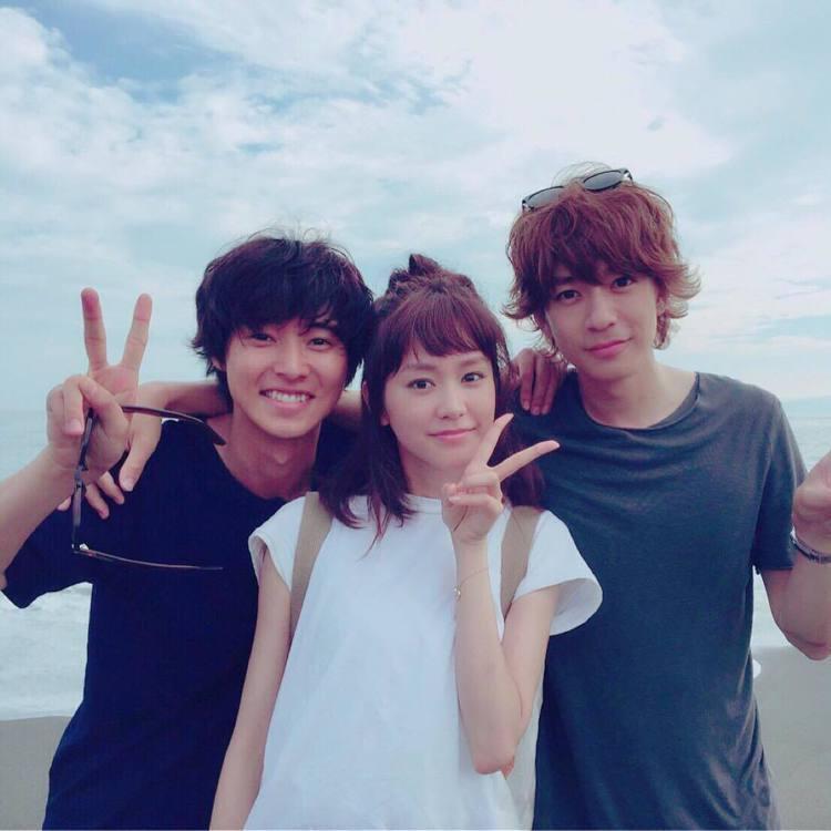 三浦翔平(右)和桐谷美玲2016年曾合作日劇《有喜歡的人》。圖/擷自instag...