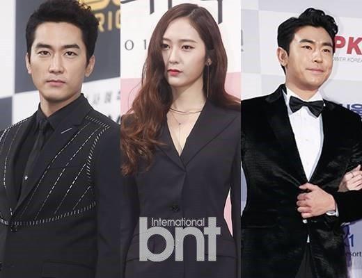 宋承憲、鄭秀晶(Krystal)、李施彥將出演新劇《Player》。圖/bntn