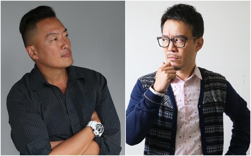 看褚士瑩(左)和劉軒(右)如何看待「斜槓人生」,與年輕人分享如何掌握人生的主導權...