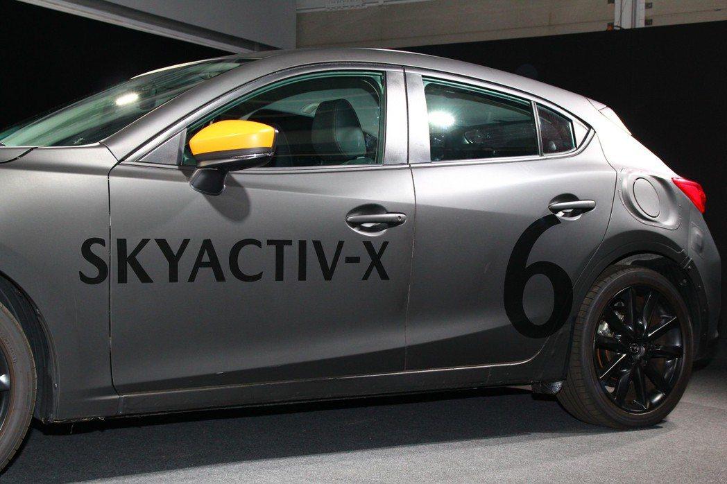 從Skyactiv-G汽油到Skyactiv-D柴油引擎後,Mazda接下來要進入Skyactiv-X新世代引擎技術。 記者張振群/攝影