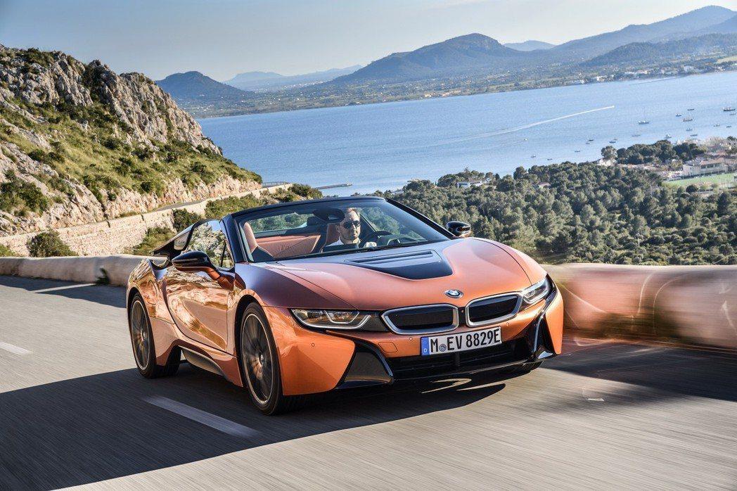 全新BMW i8 Roadster。 圖/汎德提供