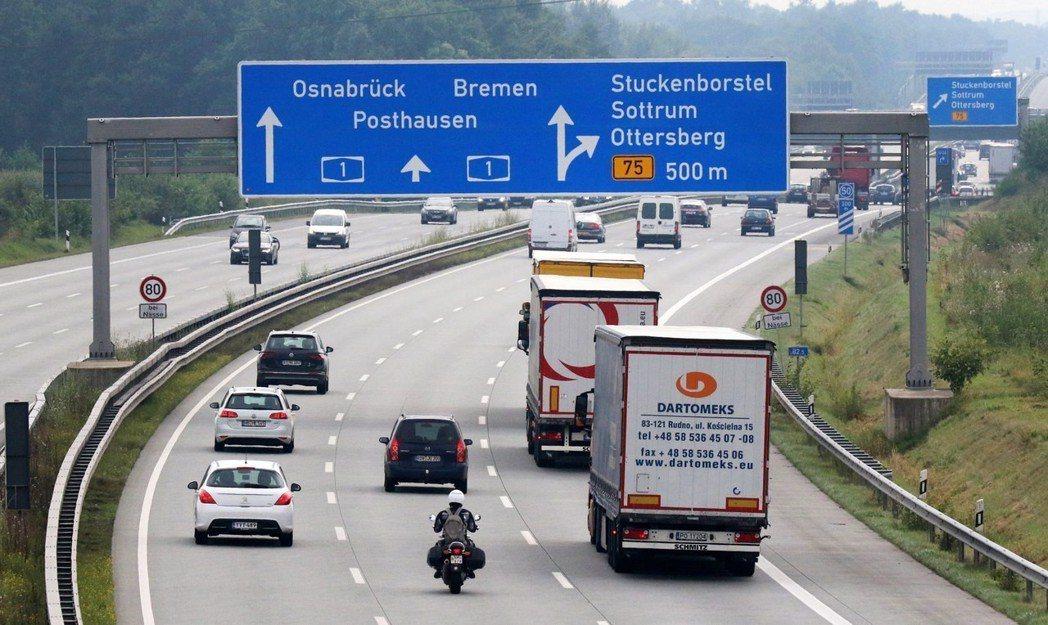 以公私合作夥伴關係(PPP)模式建設開發的德國高速公路。 圖/歐新社