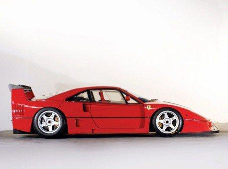 擁有Ferrari F40 LM極度限量超跑的機會!要價610萬美元