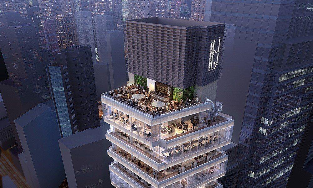 共24層的H Queen's設計時就設想為複合式大樓,除了畫廊、還有POP UP...