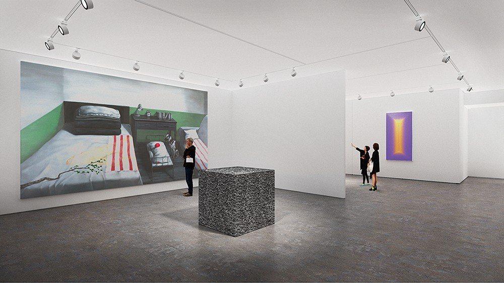 原於中環娛樂行已有一個空間的佩斯畫廊,不惜入駐H Queen's開設在香港的第二...