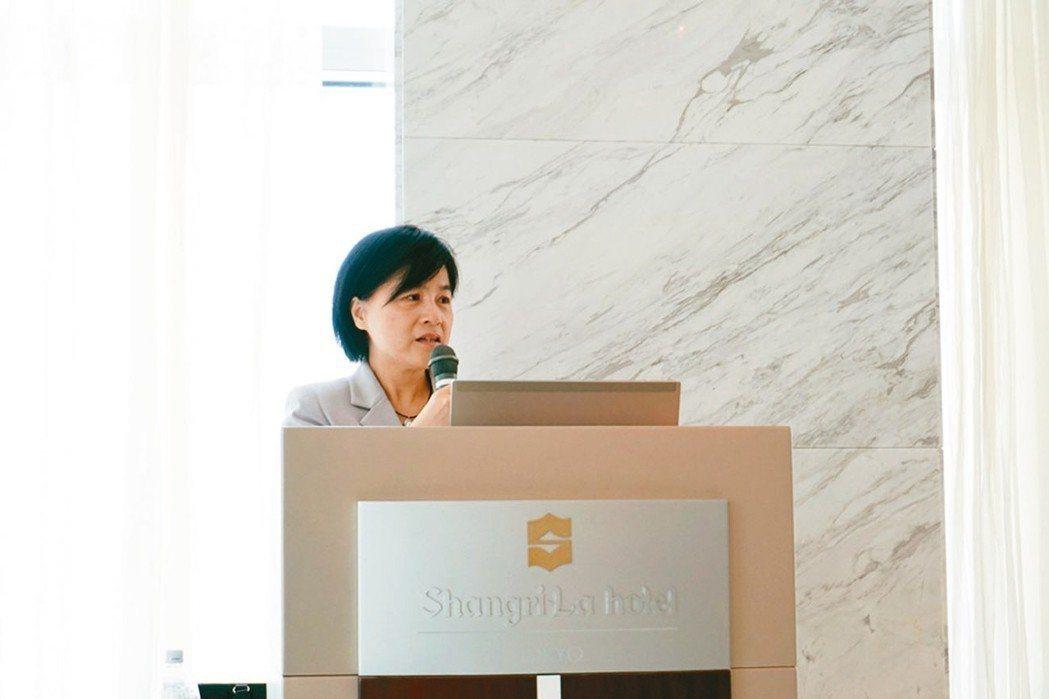證交所副總經理陳麗卿。 報系資料照
