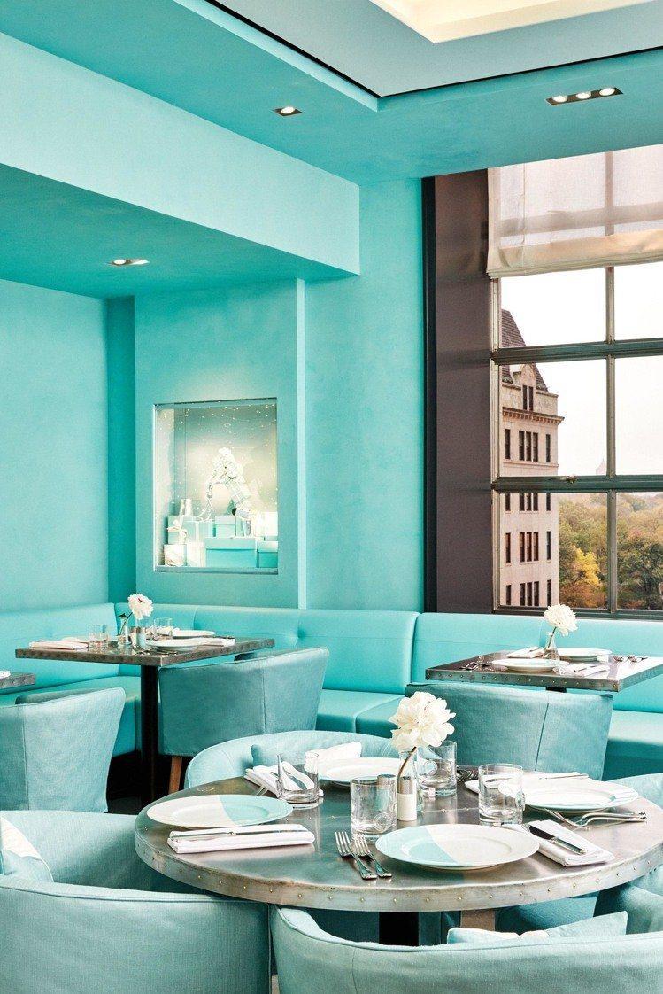 Tiffany & Co.於去年底在紐約第五大道旗艦店四樓開設了名為Blue B...