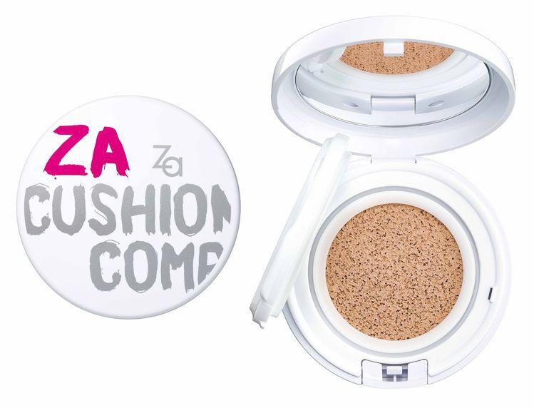 Yahoo奇摩百萬人氣美妝榜第8名:Za裸光亮白氣墊粉餅,售價590元。圖/Za...