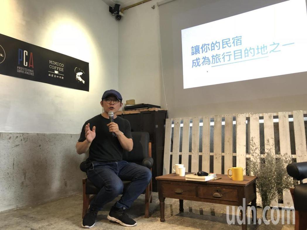 41歲的季子弘寫過10餘本旅遊書,也成立出版社,希望為台灣出版業盡分小小心意。記...